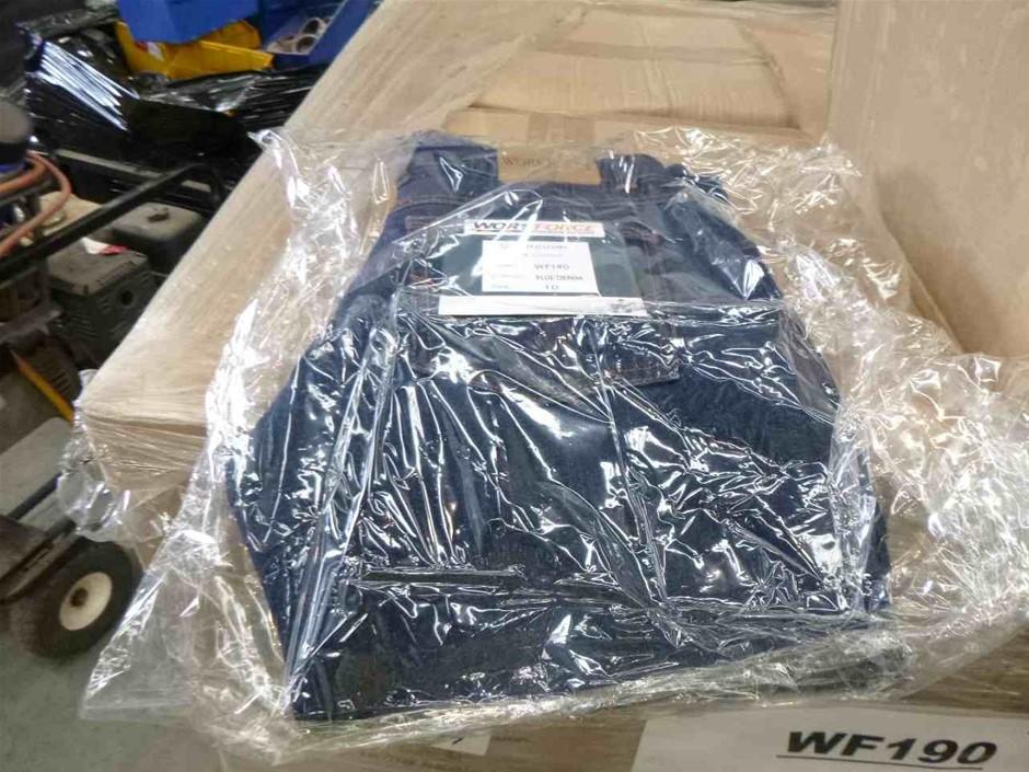Pallet of Workforces Drill Trouser Blue Denim