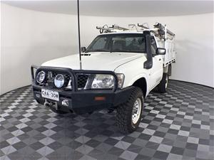 2011 (COMP) Nissan Patrol DX (4x4) GU Tu