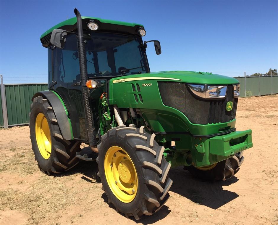 2017 John Deere 5100GF Tractor