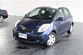 Unreserved 2008 Toyota Yaris YR NCP90R