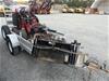 Purpose Built Dingo Plant Trailer with Dingo Mini Skid Steer Digger
