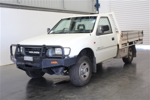 2001 Holden Rodeo LX R9 Manual Cab Chass
