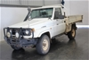 1999 Toyota Landcruiser (4x4) HZJ75 Manual Cab Chassis