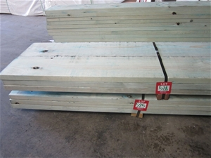 Pack of 6 lengths of 290mm x 45mm T2 Tre