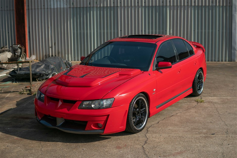 2004 HSV VY2 Clubsport 285kw Manual Sunroof