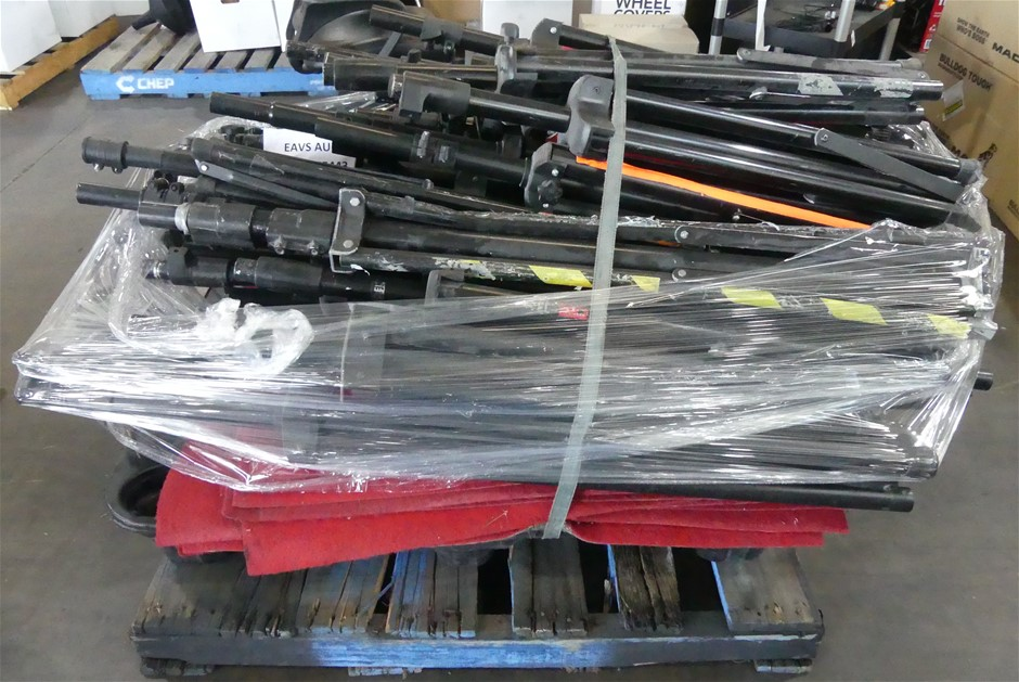 Pallet lot of assorted Audio Accessories