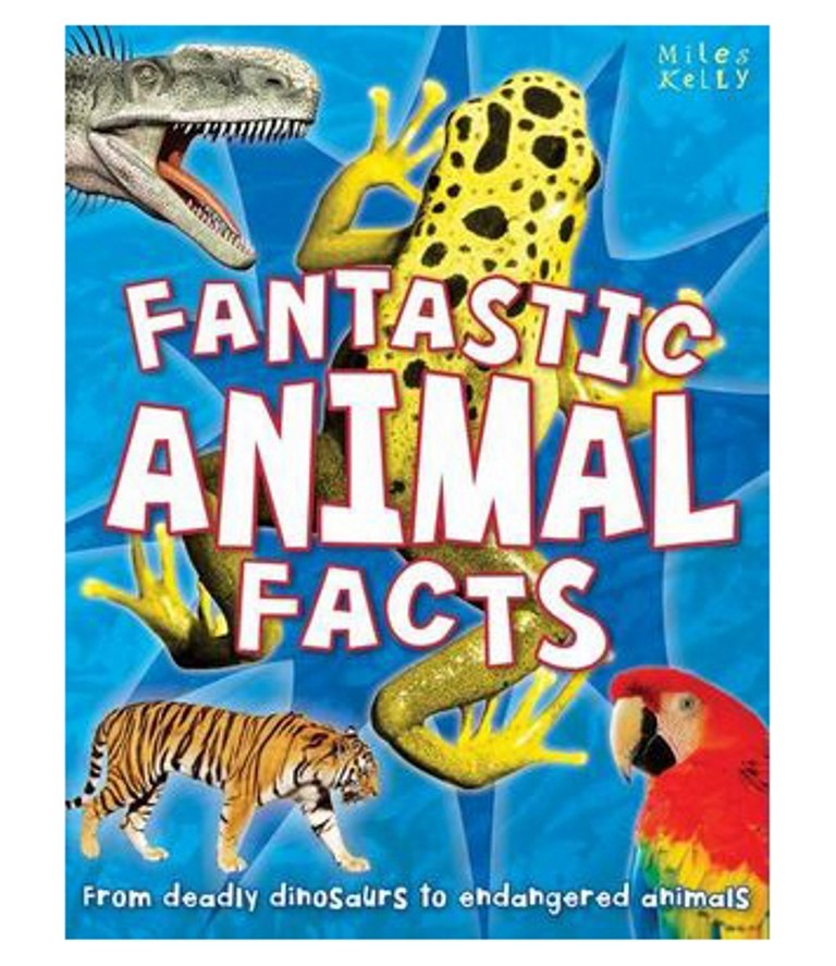 FANTASTIC ANIMAL FACTS by MILES KELLY. Buyers Note - Discount Freight Rates