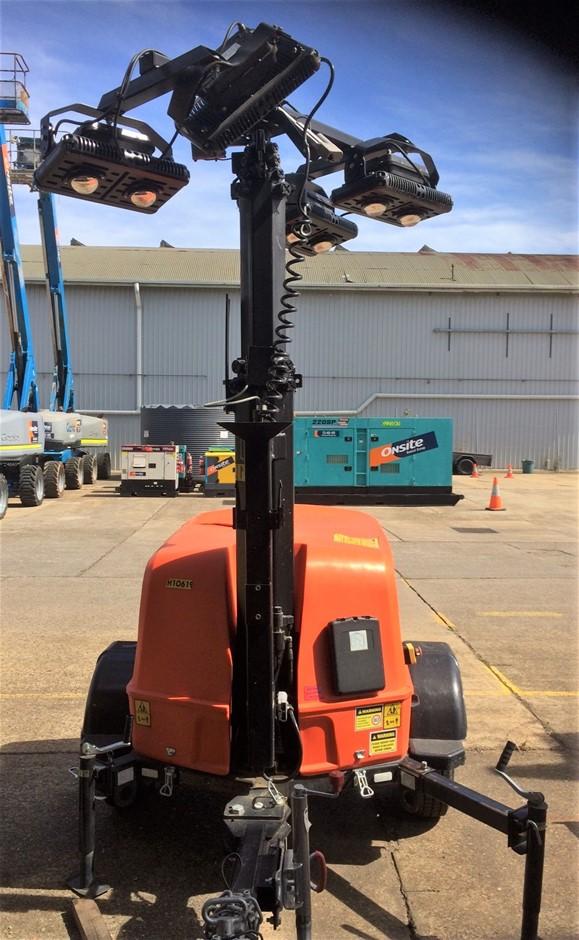 2018 JLG Metro-LED Diesel LED Lighting Tower Make: JLG Model: