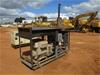 Diesel Powered Generator on Skip Mounted Frame