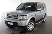 Unreserved 2012 Land Rover Discovery 4 3.0 SDV6 HSE Series
