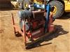 2008 Sykes Skid Mounted Diesel Water Pump