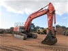 2008 Hitachi ZX350LCH-3 Steel Tracked Excavator with Bucket