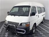 2003 Toyota HiAce Commuter LH184R Manual 14 Seats Bus