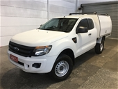 2013 Ford Ranger XL 4X4 PX Turbo Diesel Manual Extra Cab