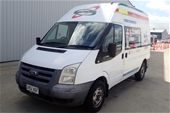 Unreserved 2007 Ford Transit MID (MWB) VM T/D Manual Van