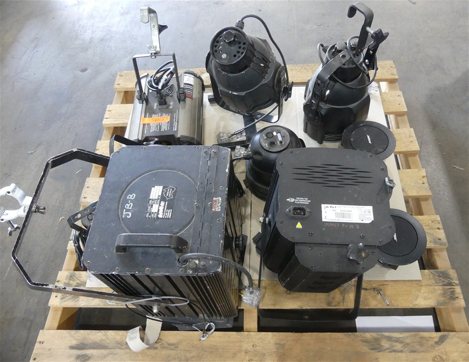 Pallet Lot of Assorted Audio Equipment