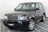 Unreserved 2008 Land Rover Range Rover Sport TDV6 T Dsl Auto