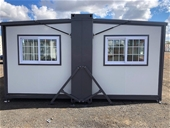 Unreserved Fold Out Portable House, Toilet Block & more