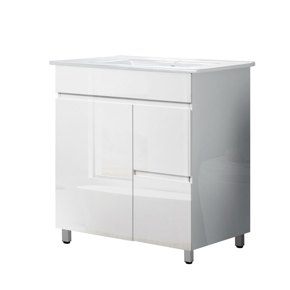 Cefito 750mm Bathroom Vanity Cabinet Unit Wash Basin Sink Freestanding
