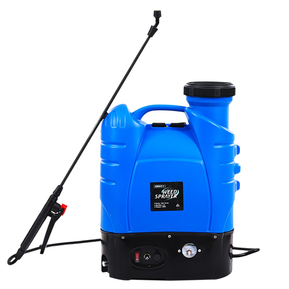 Giantz 16L Weed Sprayer Electric Backpack Farm Pump Spray Rechargeable