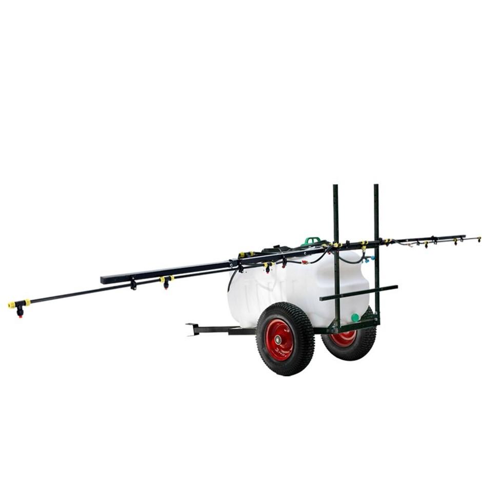 Giantz 100L ATV Weed Sprayer 5M Boom Trailer Spot Spray Tank Farm Pump