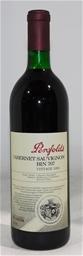 Penfolds `Bin 707` Cabernet Sauvignon 1992 (1x 750mL) Baross, SA