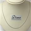 9 Karat White Gold Chain Necklace