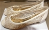 Taranto Elizabella S Latte Shoe, Size: 40