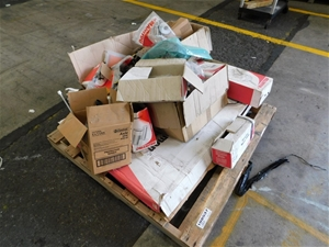 Pallet of Assorted Mechanical Parts