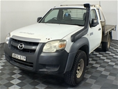 2007 Mazda BT-50 DX B3000 4x4 T/Diesel Man Cab Chassis