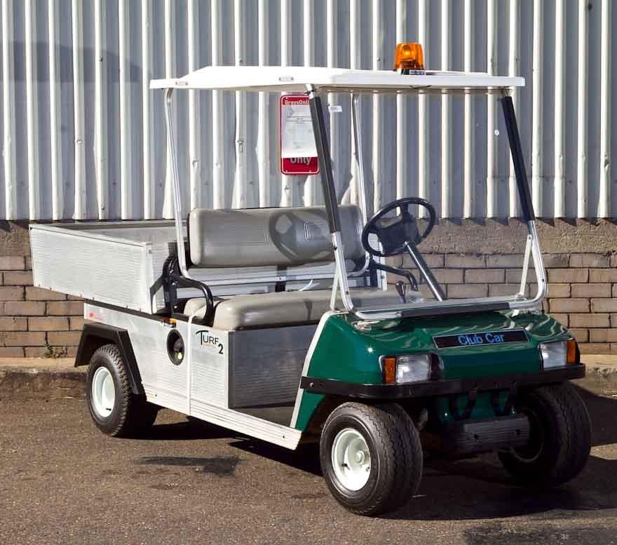 Utility Golf Cart, 2007, Club Car Turf 2, petrol, Serial ...