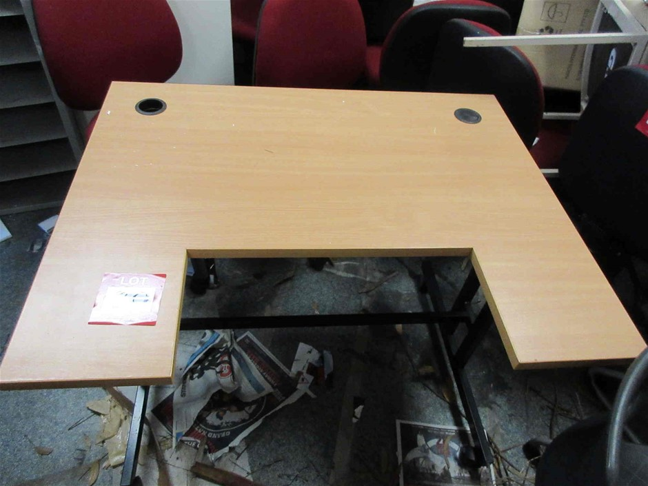 Timber Laminated Office Desk