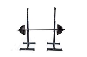 Pair of Adjustable Rack Sturdy Steel Squ