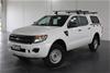2014 Ford Ranger XL 4X2 Hi-Rider PX Turbo Diesel Automatic Dual Cab