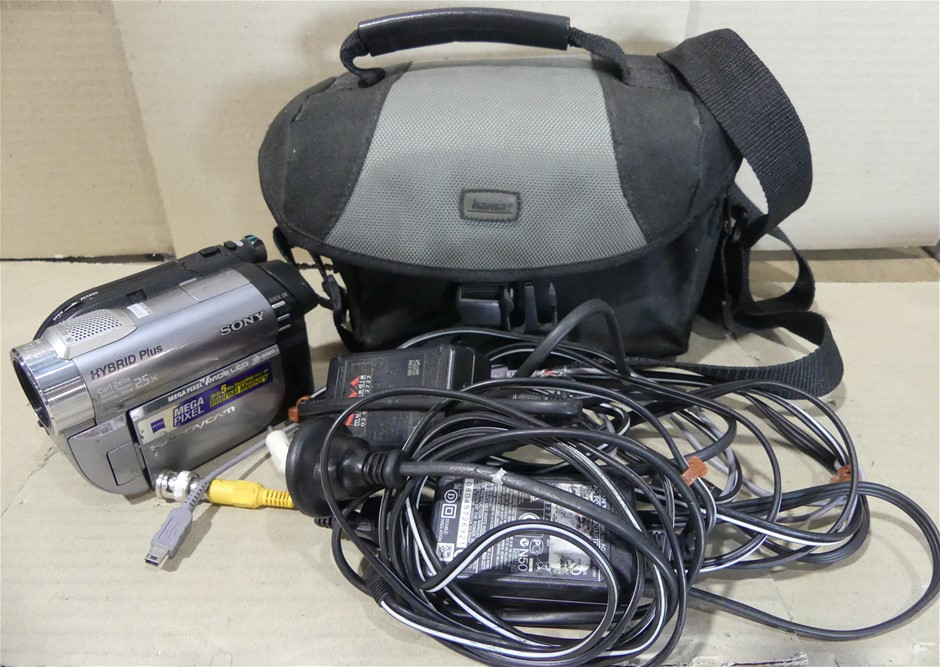 Sony DCR-DVD810 1MP DVD Hybrid Plus Handycam Camcorder