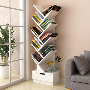 Tree Bookshelf Bookcase Book Organizer 9