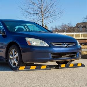 90cm Heavy Duty Rubber Curb Parking Whee