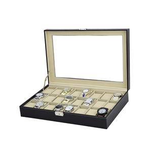 Watch Box - 24 Slot Luxury Display Case