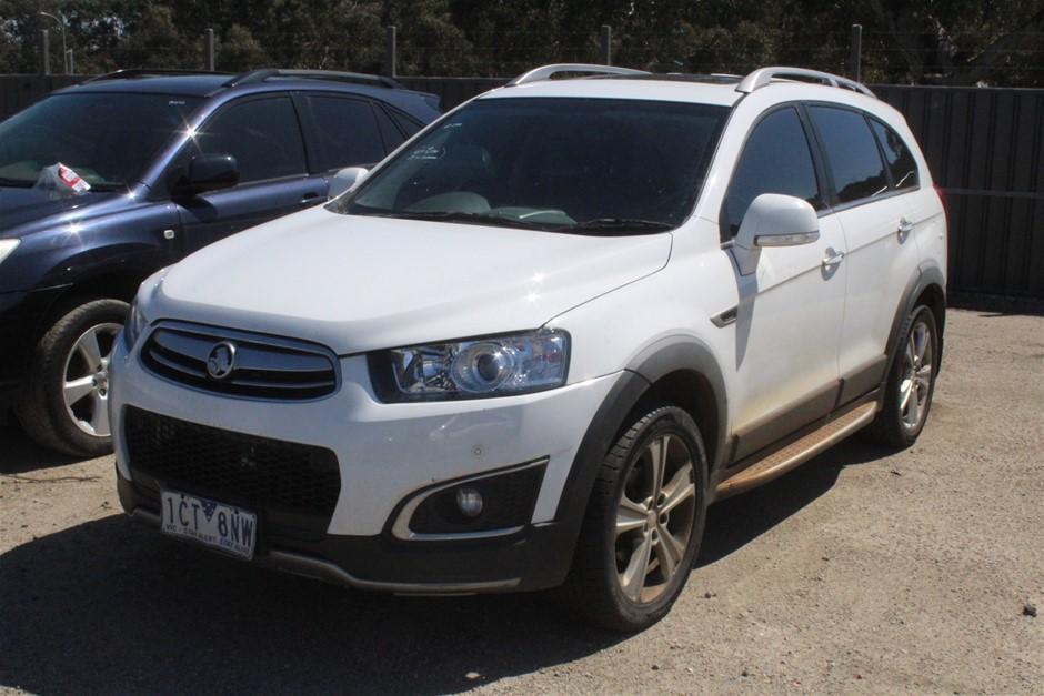 2014 Holden Captiva 7 LTZ AWD CG II Turbo Diesel Automatic 7 Seats Wagon