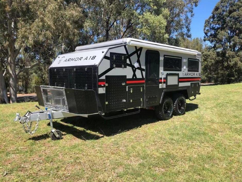2019 Armor A18 Hybrid Off Road Caravan