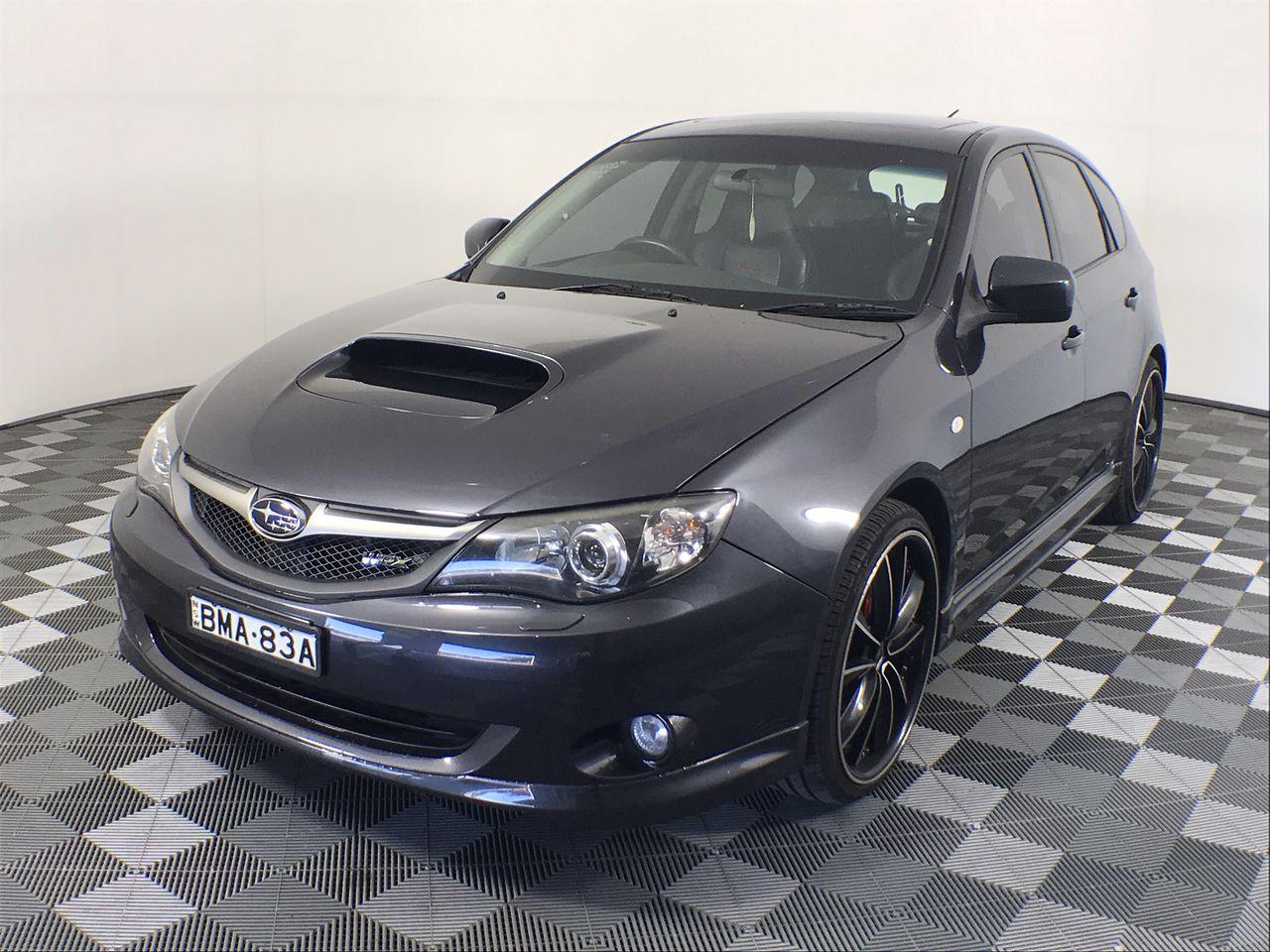 2009 Subaru Impreza WRX (AWD) G3 Manual Hatchback