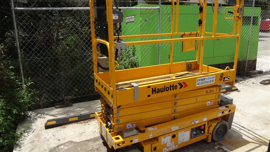 10/2016 Haulotte Optimum 8AC Narrow Electric Scissor Lift