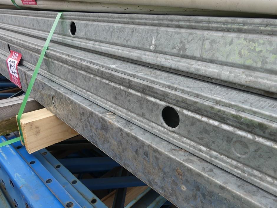Qty 76 x Galvanized Wall Frames