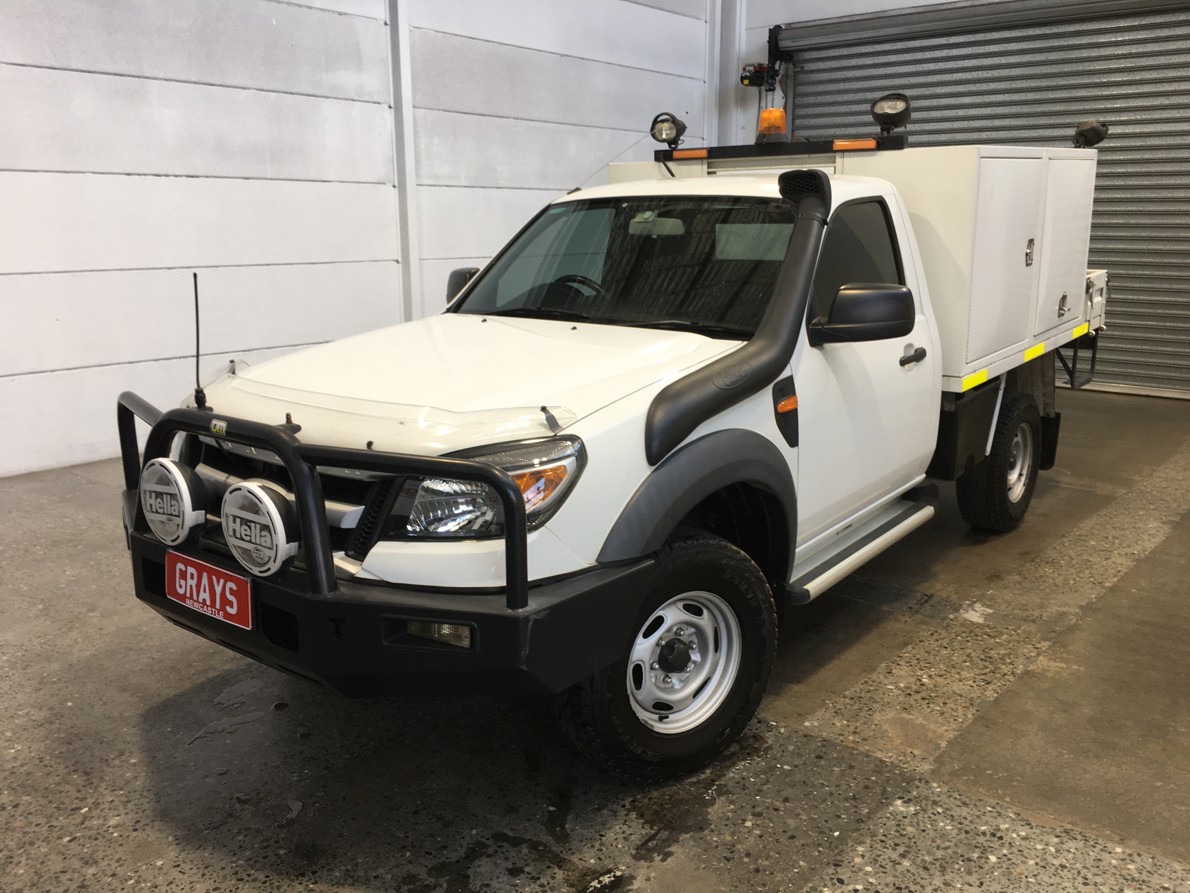 2010 Ford Ranger XL (4x4) PK Turbo Diesel Manual Cab Chassis