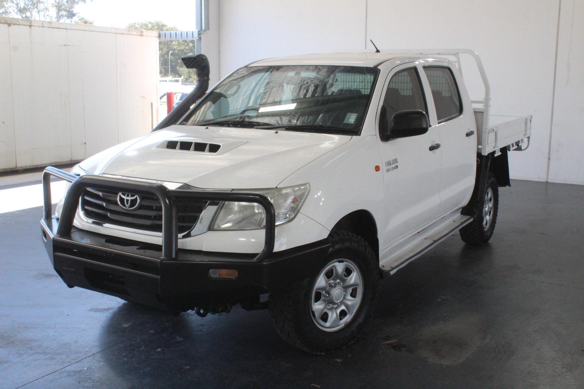 2012 Toyota Hilux SR (4x4) KUN26R Turbo Diesel Automatic Dual Cab