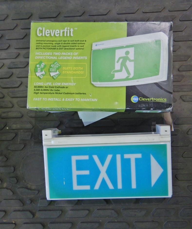 Qty 3 x Exit Signs (Pooraka, SA)