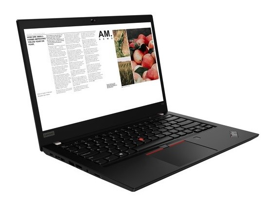 Lenovo ThinkPad T490 14-inch Notebook, Black