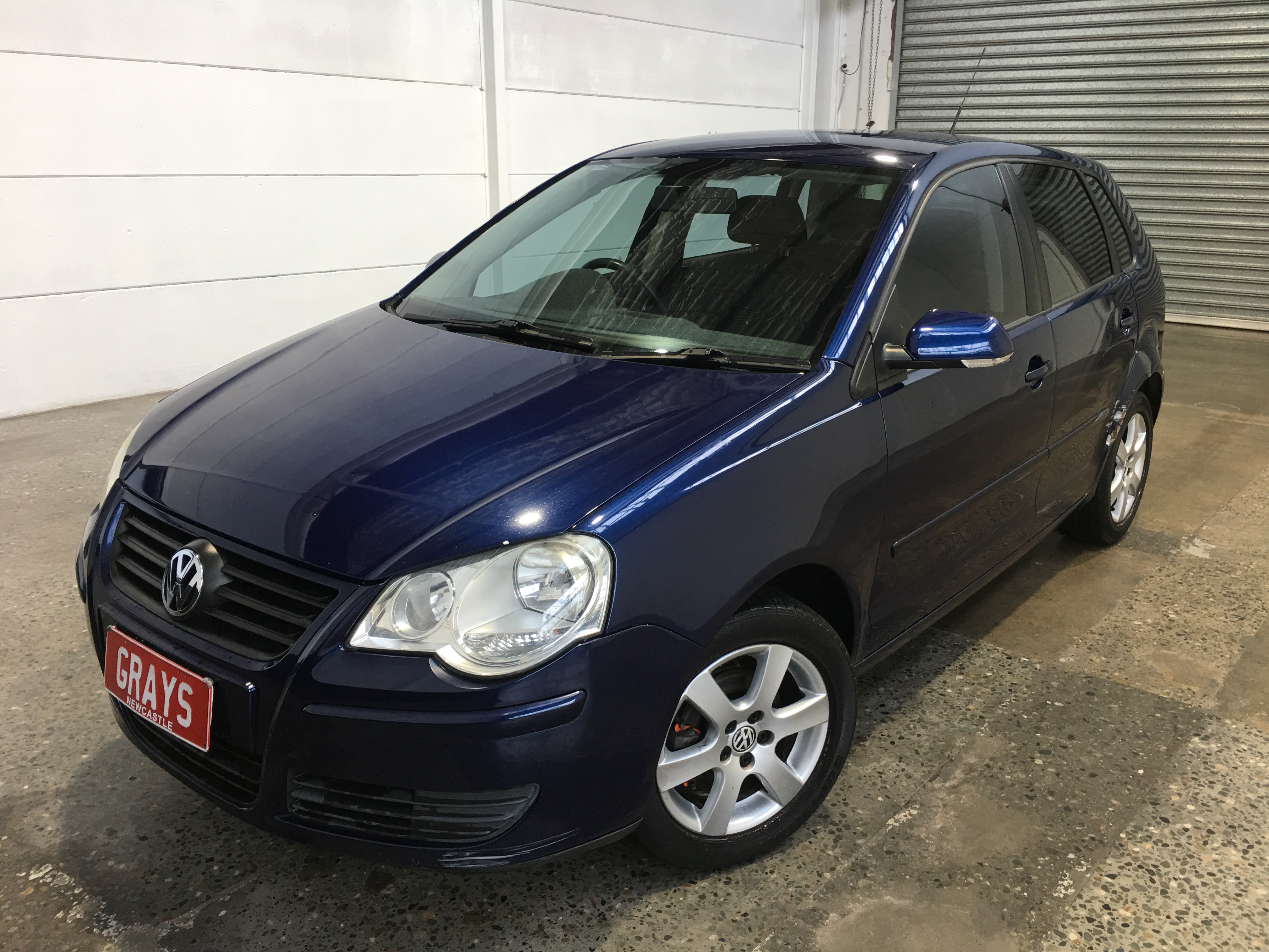2008 Volkswagen Polo PACIFIC 9N Automatic Hatchback