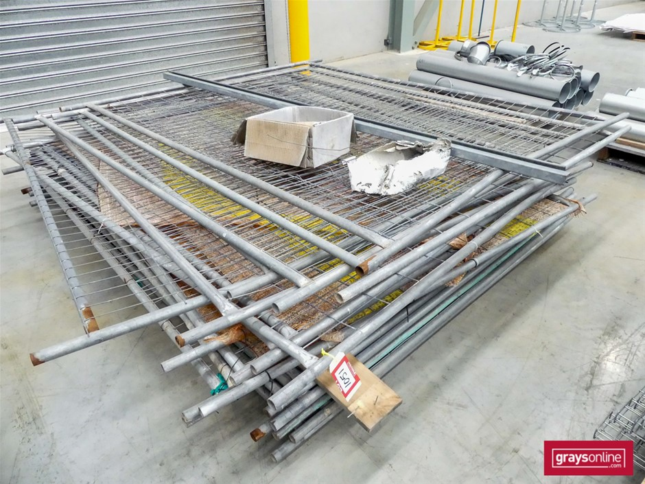 1 x Pallet Temporary Fence Panels - Used