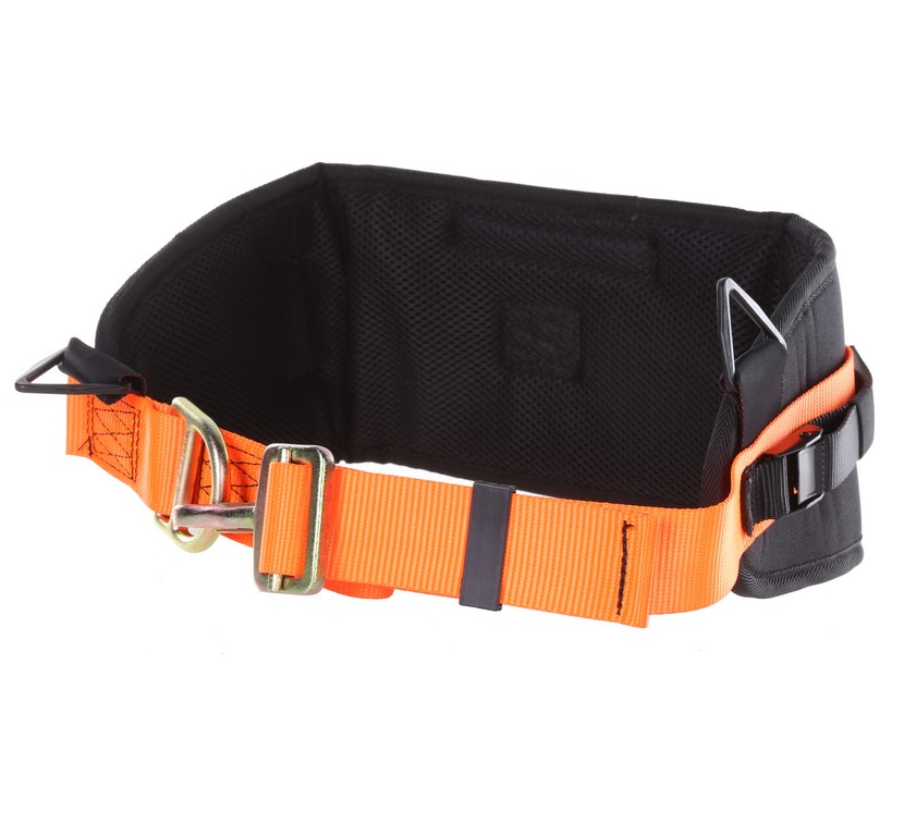 MSA Miners Utility Belt w/ Fluro Orange, Webbing, Breathable Waist Support
